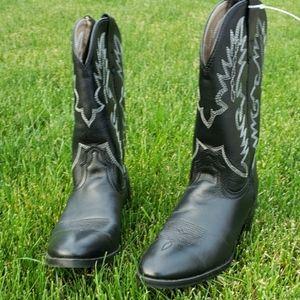 New Dan Post Black Cowboy Boots